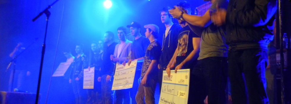 The Underground Hosts 2013 Battle of the Bands Finale