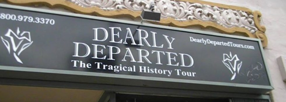 Dearly Departed Tours Sheds Spotlight on LA's Dark Side